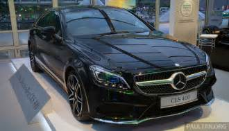 Mercedes Cl 400 Mercedes Cls 400 Facelift Previewed In Malaysia Image