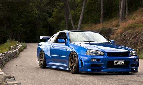 nissan r34 11 amazing cars featuring in fast and furious 7 sam new
