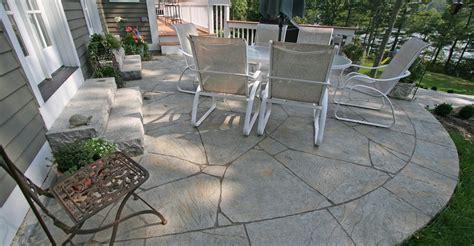 Concrete In Backyard by Concrete Backyard Design Concrete Square Patio Design