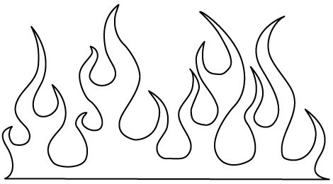 flames template for pumpkins i have printed this one too