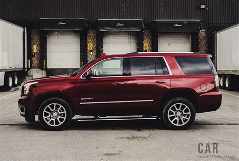 gmc yukon denali review review 2016 gmc yukon denali canadian auto review