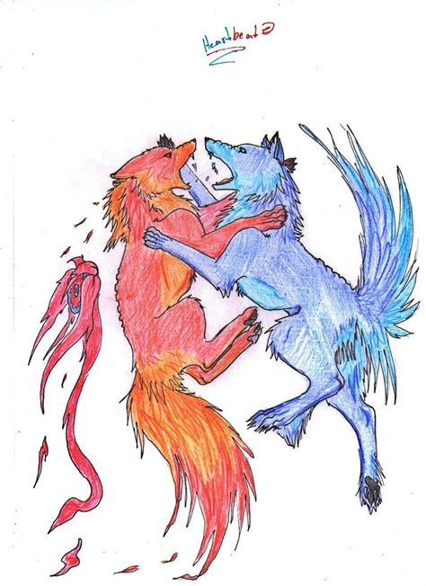 anime fight photo anime wolves fighting drawing www pixshark images