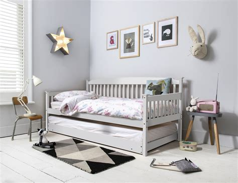 Pull Out Daybed Day Bed Single Bed With Pull Out Trundle In Choice Of Colours Ebay