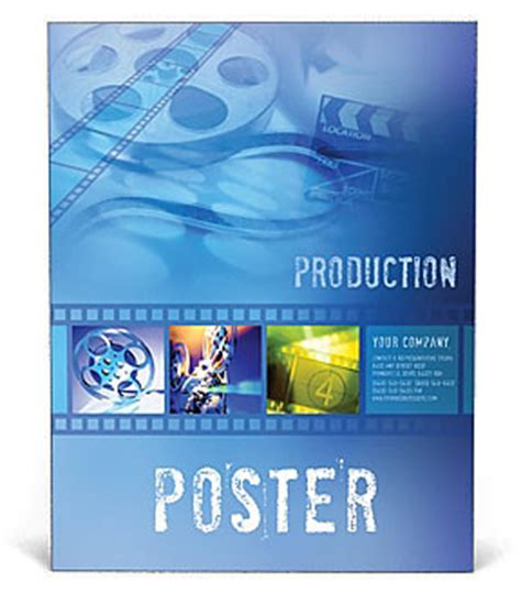 poster template publisher free poster template design id 0000000271
