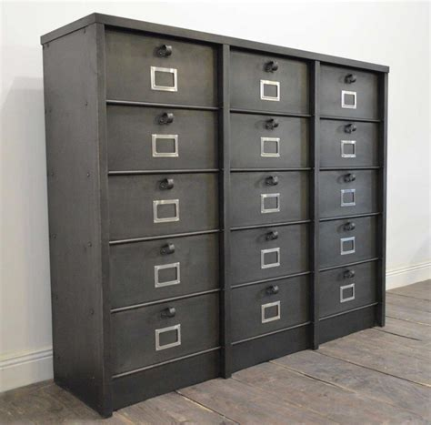 Large File Cabinet by Large Industrial Filing Cabinet From Strafor For Sale At Pamono
