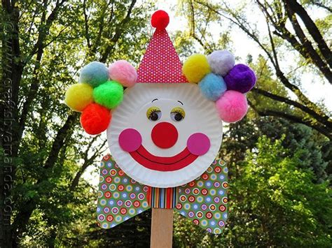 Paper Plate Clown Craft - 17 best images about start crafts on