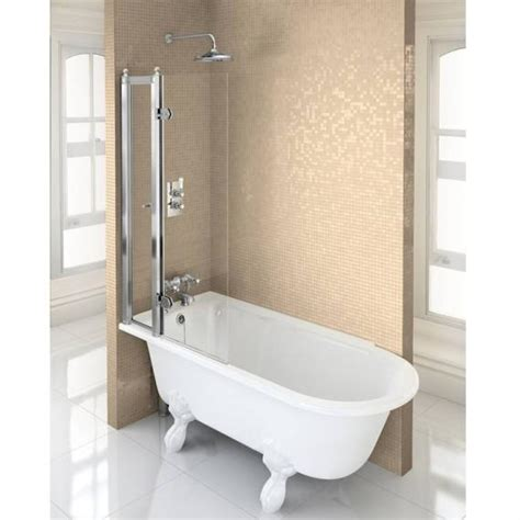 shower bath 1500 burlington hton 1500 freestanding showering bath