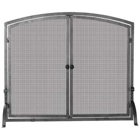 Uniflame Fireplace Screen With Doors by Uniflame 44 Inch Olde World Iron Fireplace Screen With Doors S 1142 Gas Log Guys