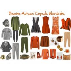 quot gamine autumn capsule wardrobe quot by jeaninebyers on