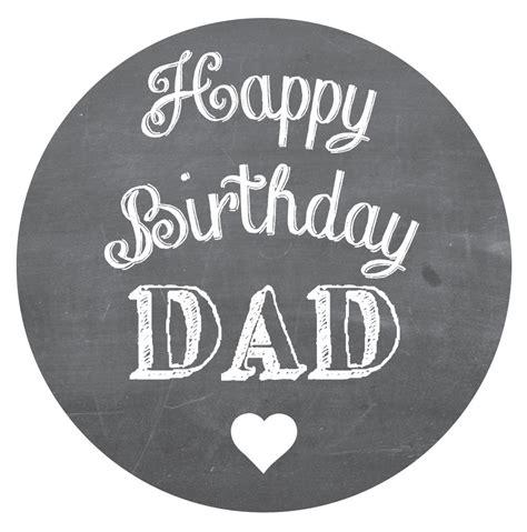 happy birthday sticker design happy birthday dad stickers choice of 3 designs crafts