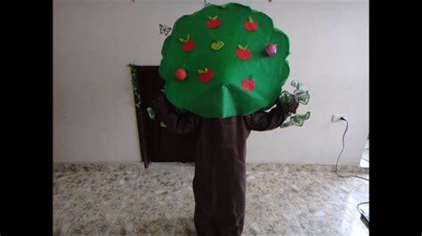 como hacer un disfraz de arbol youtube