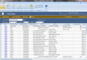 crm access template access template screenshots crm template screenshots
