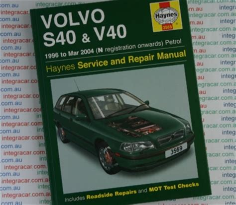 volvo s40 and v40 service and repair manual haynes 1996 2004 new sagin workshop car manuals