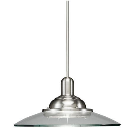 Brushed Nickel Pendant Lighting Enlarged Image