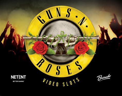 Guns N Roses Logo 2 netent s guns n roses awarded as best of the year