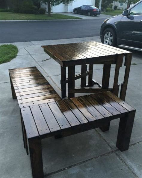 Outdoor Furniture Ideas Made With Wood Pallets Pallet Patio Furniture Made With Pallets