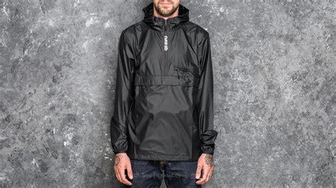 Jaket Nike Parka Taslan Black nike sb packable anorak jacket black footshop