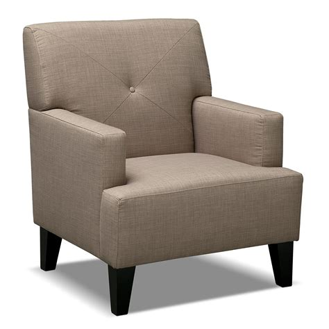 American Chair by American Signature Furniture Avalon Upholstery Accent Chair