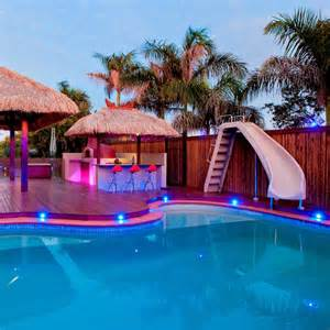 backyard water slides for pools backyard design ideas