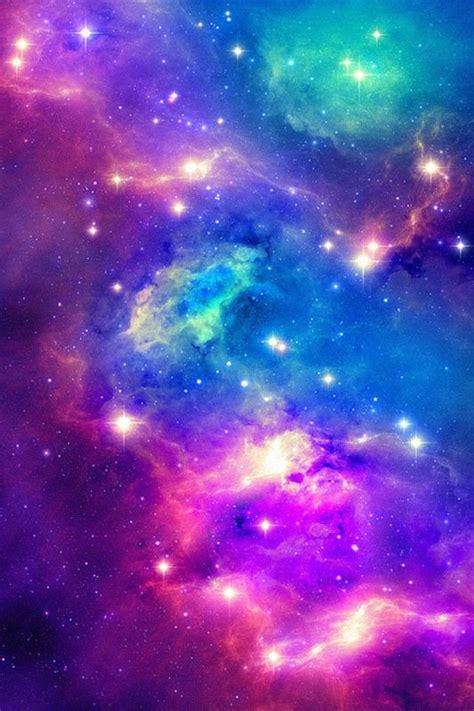 wallpaper galaxy green pink purple green and blue galaxy phone wallpaper