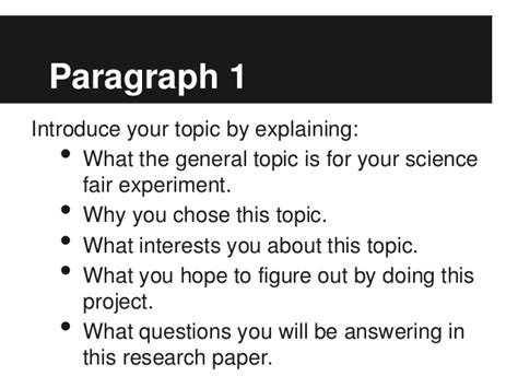 how to write an introduction to a scientific research paper research papers science fair projects writefiction581