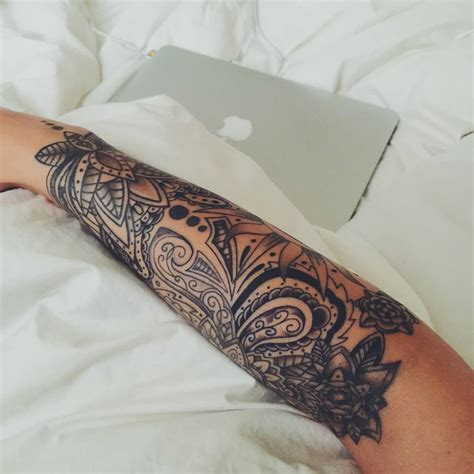 paisley design tattoo 40 paisley pattern tattoos on sleeve