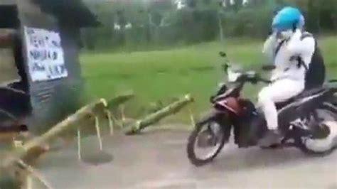 fakta sebenarnya pemudik diusir pakai meriam bambu