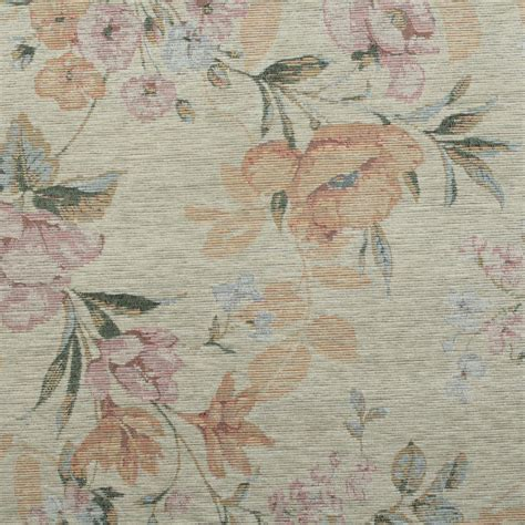 Upholstery Fabric Wi by Floral Distressed Vintage Traditional Tapestry Curtain