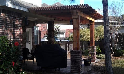 Lone Patio Builders In Houston Pergolas In The Woodlands Lone Patio Builders