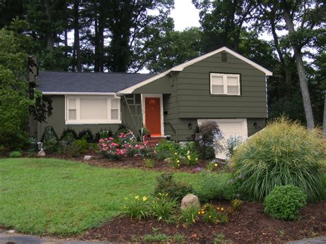 homeofficedecoration exterior paint colors with green roof