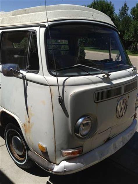 sell   vw bus westfalia camper pop top original paint kombi van volkswagen  loveland
