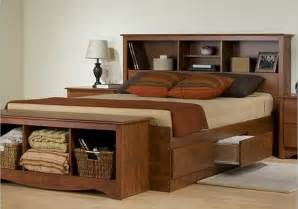 Diy Wood Platform Bed Frame by Wooden Full Bed Frame With Storage With Modern Bedroom Furniture And Full Storage Bed Closet