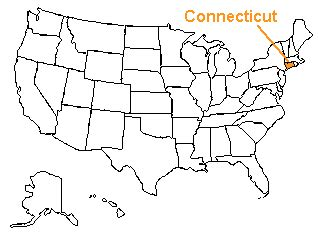 map usa states connecticut the us50 a guide to the state of connecticut geography