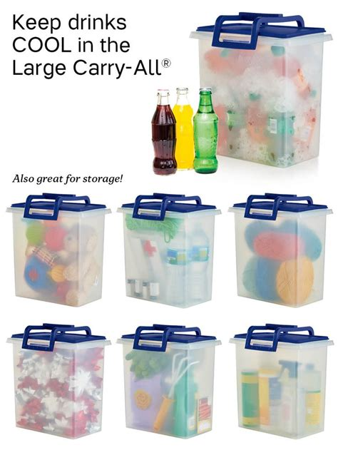 Tupperware Jumbo Keep N Carry tupperware large carry all container so many uses for this handy container you ll need more
