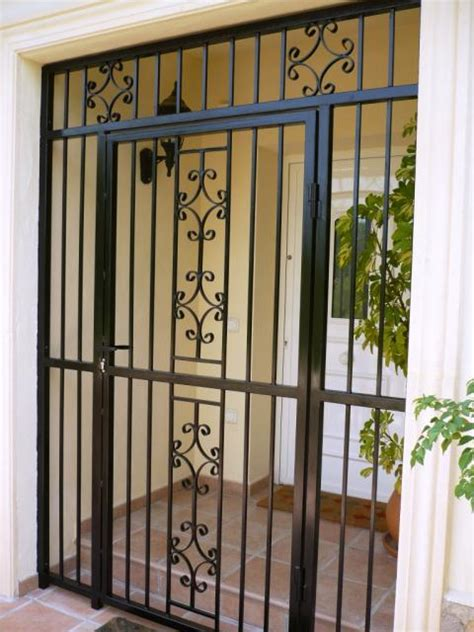 Security Gates For Front Doors The Railing Diy Easy To Assemble Step By Step To Protect With Simplicity Dignity And Style
