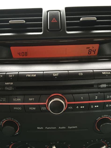 mazda 3 audio system 2007 mazda 3 unresponsive audio system mazda forum