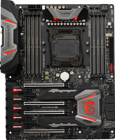 best msi motherboard msi x299 gaming m7 ack intel motherboard free shipping
