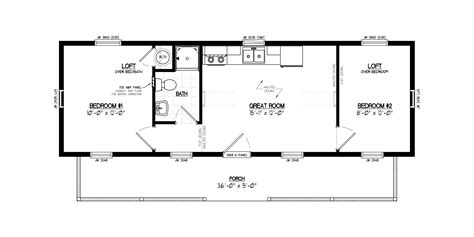 floor plans for sheds 12x40 lofted cabin interior designs free home design