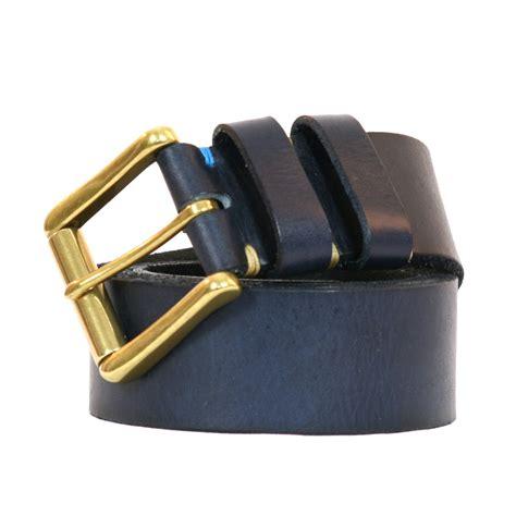 Paul Smith Metal Keepers Belt by Paul Smith Paul Smith Worn Keeper Belt Navy