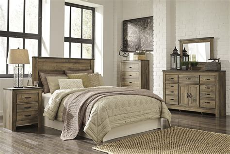 signature design bedroom furniture signature design by furniture trinell bedroom
