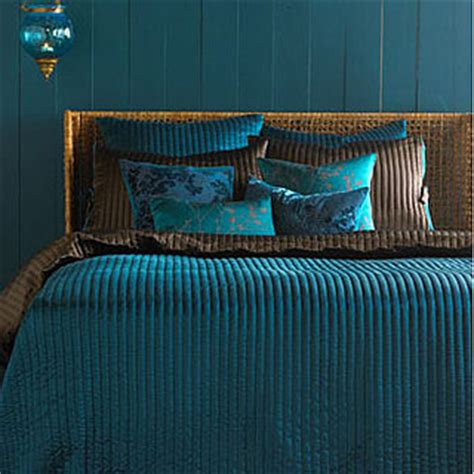 peacock colored bedding ask casa dexter duvet cover popsugar home