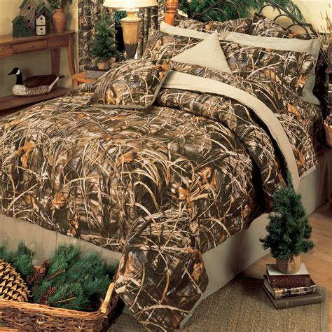 camo queen bed set camouflage comforter sets california king size realtree