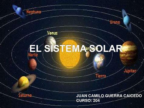fotos del sistema solar el sistema solar