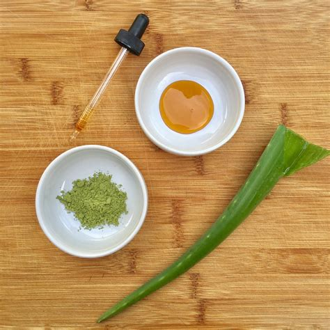 Kit 4f Green Tea 35g diy matcha green tea mask