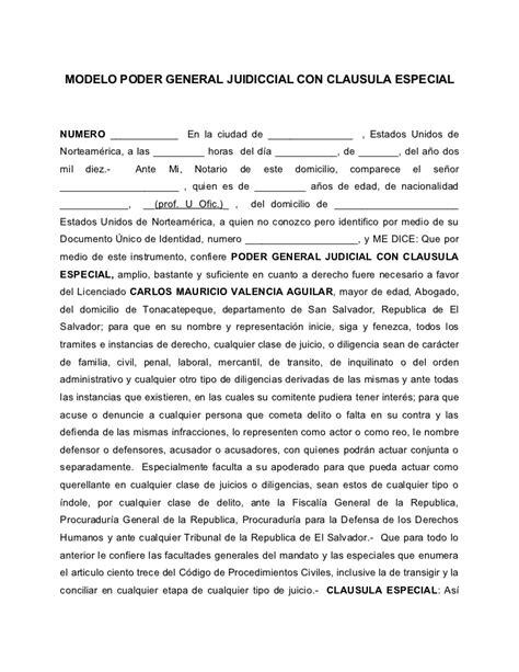 ejemplo de carta poder notarial car pictures ejemplo de poder notarial car pictures modelo de carta