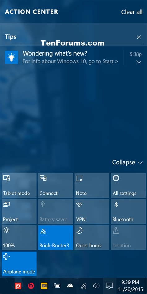 windows 10 tip how to turn off bing web search in start tips notifications turn on or off in windows 10