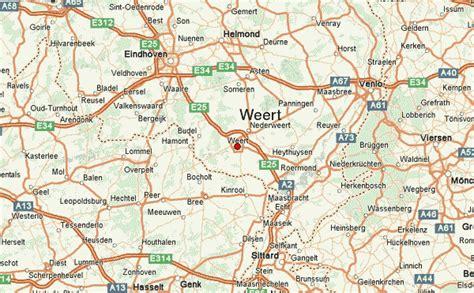 netherlands limburg map weert location guide