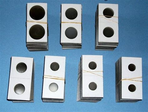 How To Make A Paper Coin Holder - 5000 assorted 2x2 cardboard mylar coin holders flips you