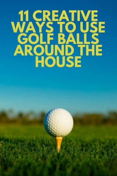 Unique Ways To Use Vinegar Around Your House by 11 Creative Ways To Use Golf Balls Around The House