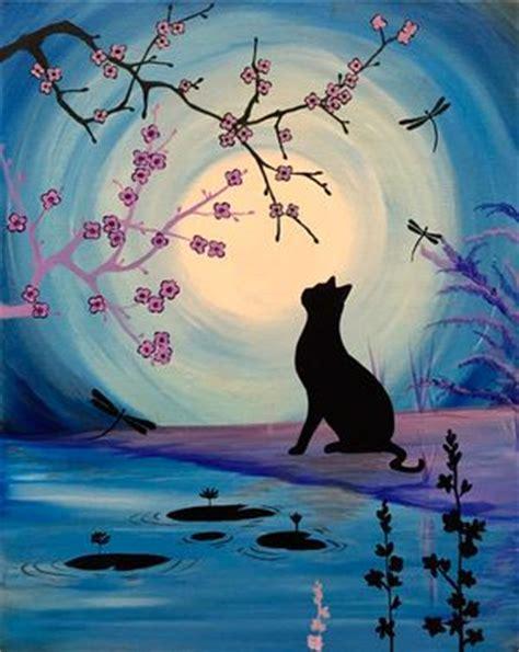 easy cat painting ideas best 25 black cat painting ideas on black cat